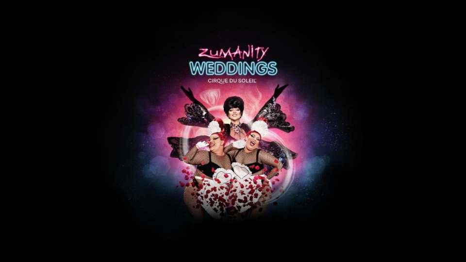 Zumanity Wedding Show logo.
