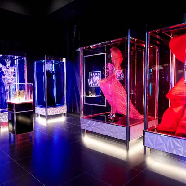 Display Room of Haus of Gaga Las Vegas