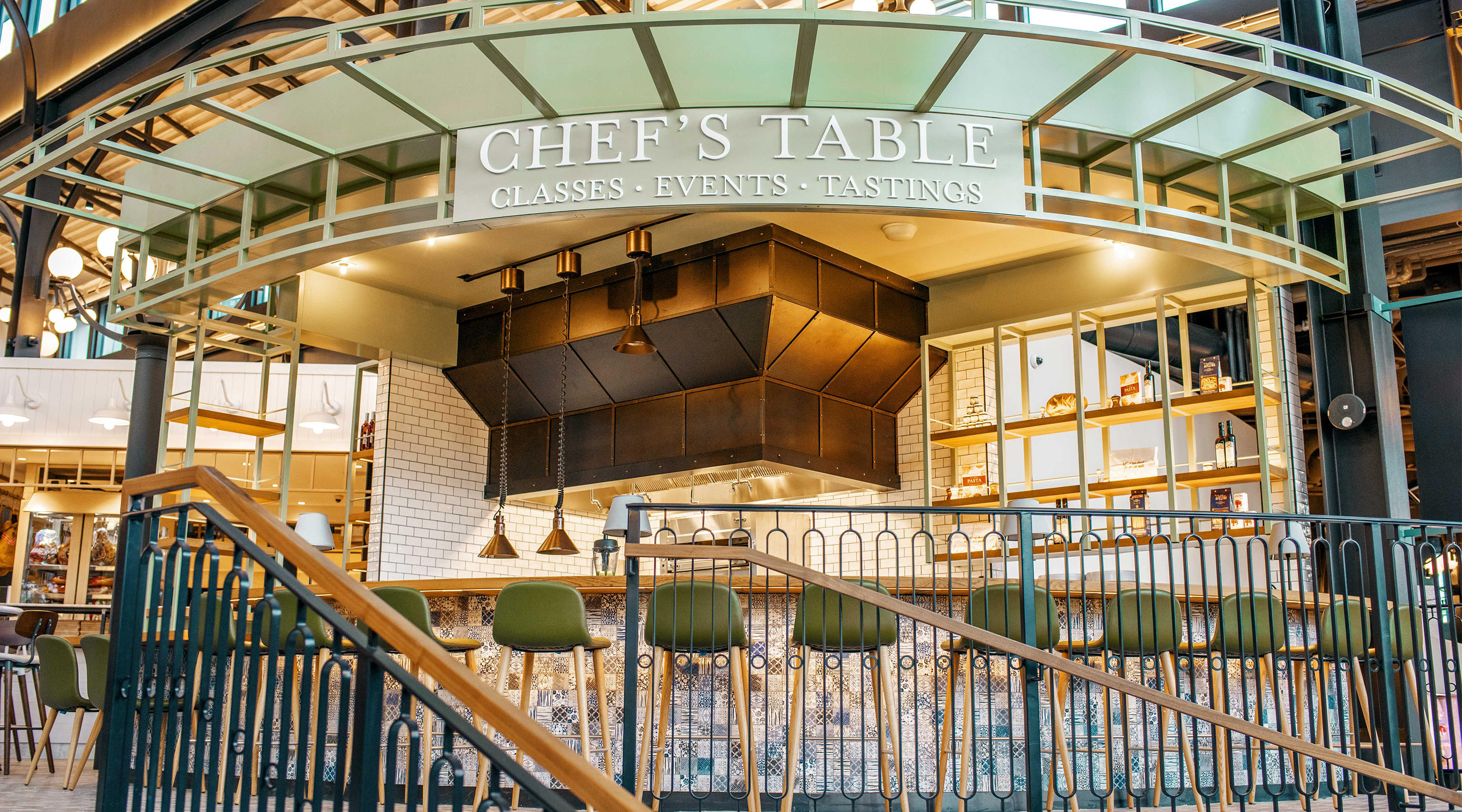 The entrance to Chef's Table inside of Eatalay at Park MGM.