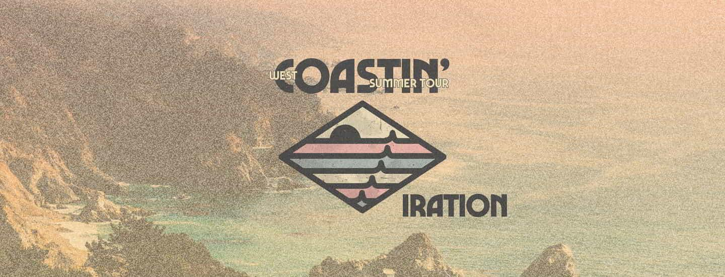The Iration Coastin' Summer Tour logo.