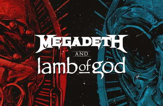 Megadeth and Lamb of God live at Mandalay Bay Events Center.