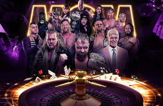 The main image for All Elite Wrestling at MGM Grand Garden.