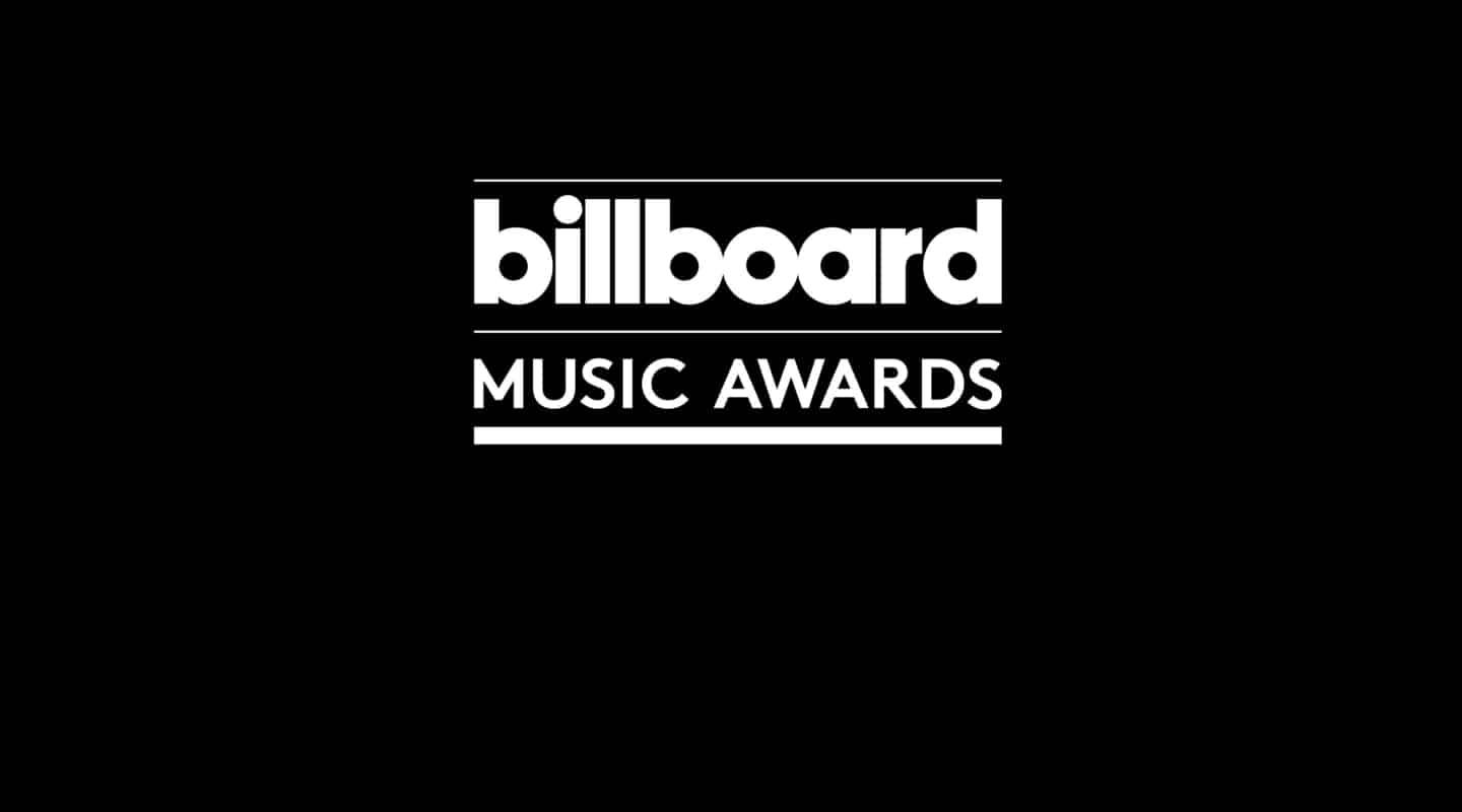 The homepage logo for the 2020 Billboard Music Awards.