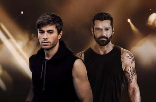 Tile image for Enrique Iglesias & Ricky Martin are perfoming at MGM Grand Garden Arena.