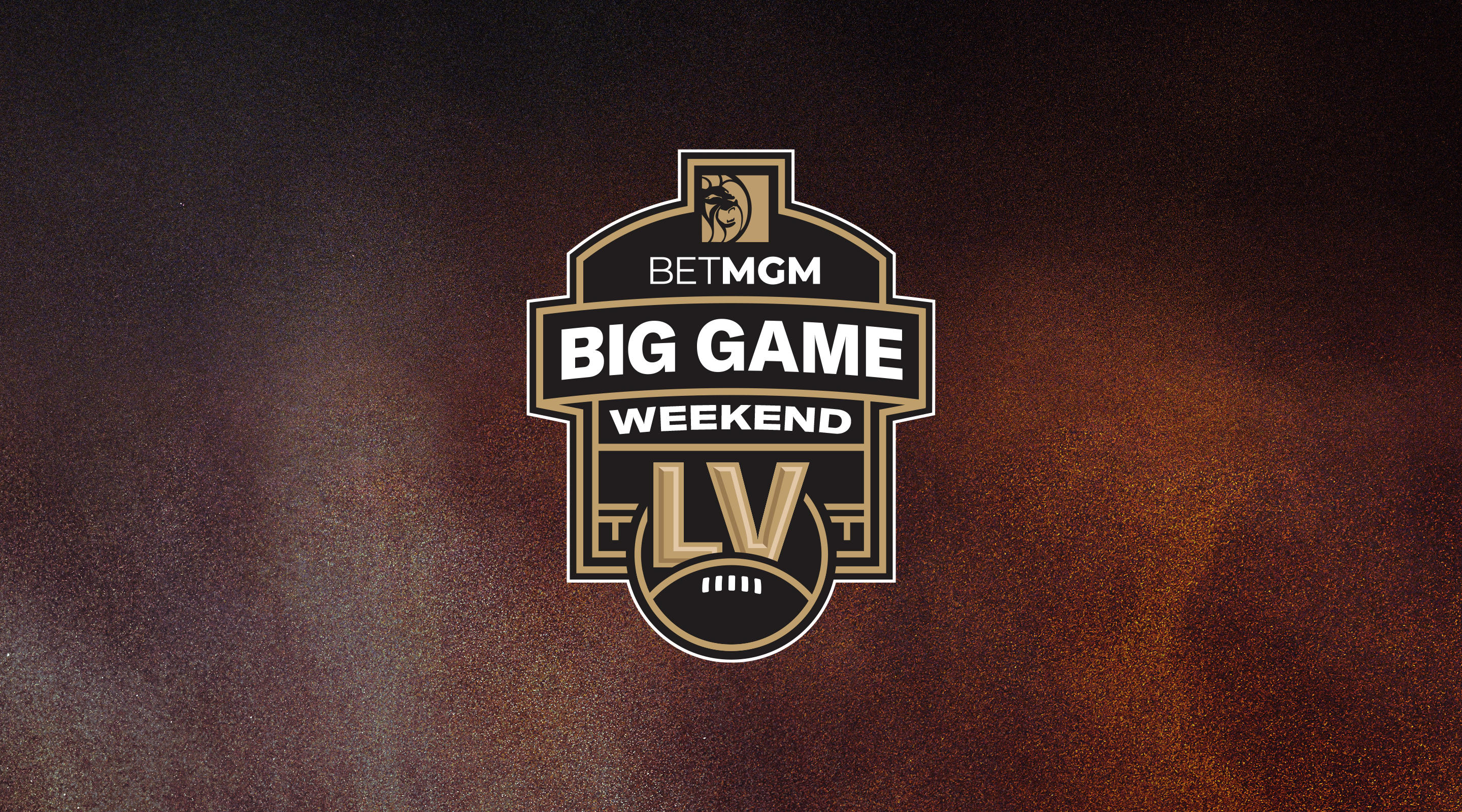 Header image for Big Game Weekend in Las Vegas.