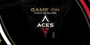 Tickets for Las Vegas Aces games are now on sale.