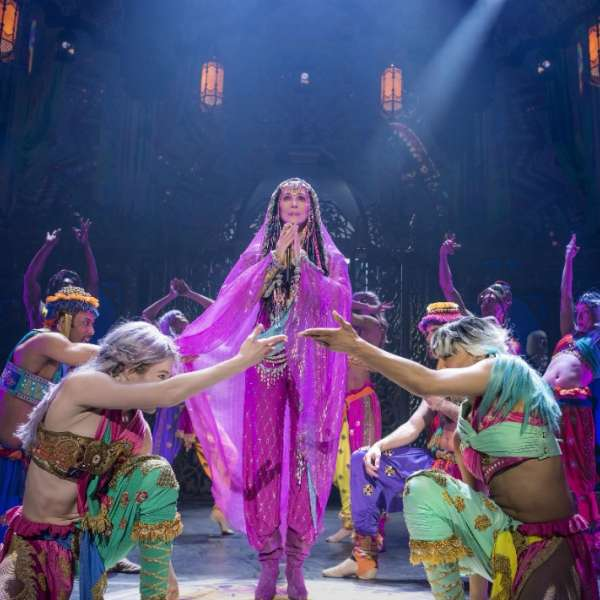 Cher performing as a gypsy.