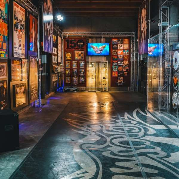 A look into the Aerosmith Museum.