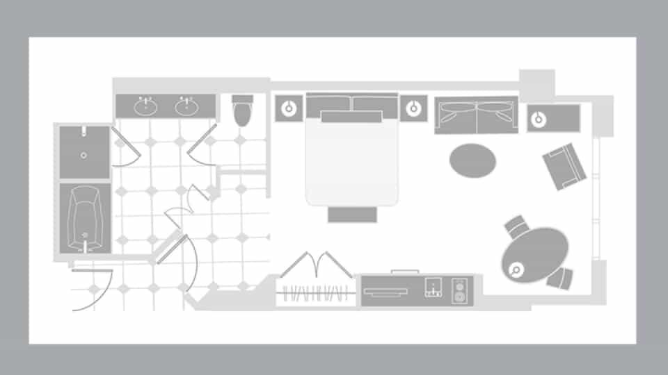 Signature Deluxe Suite Floorplan