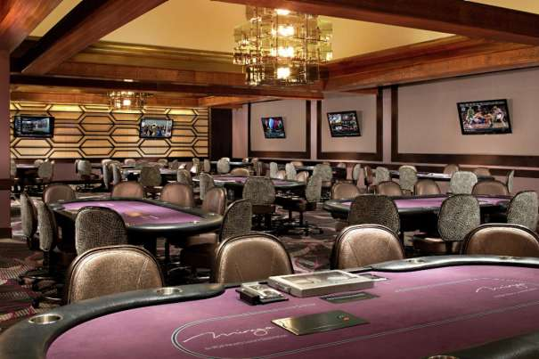 Take a seat at any one of our many poker tables and test your luck. Named