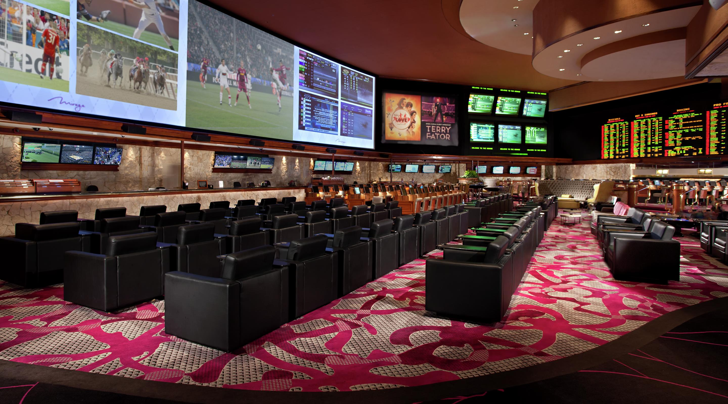 Experience wall-to-wall action at the best Race & Sports Book on the Strip.