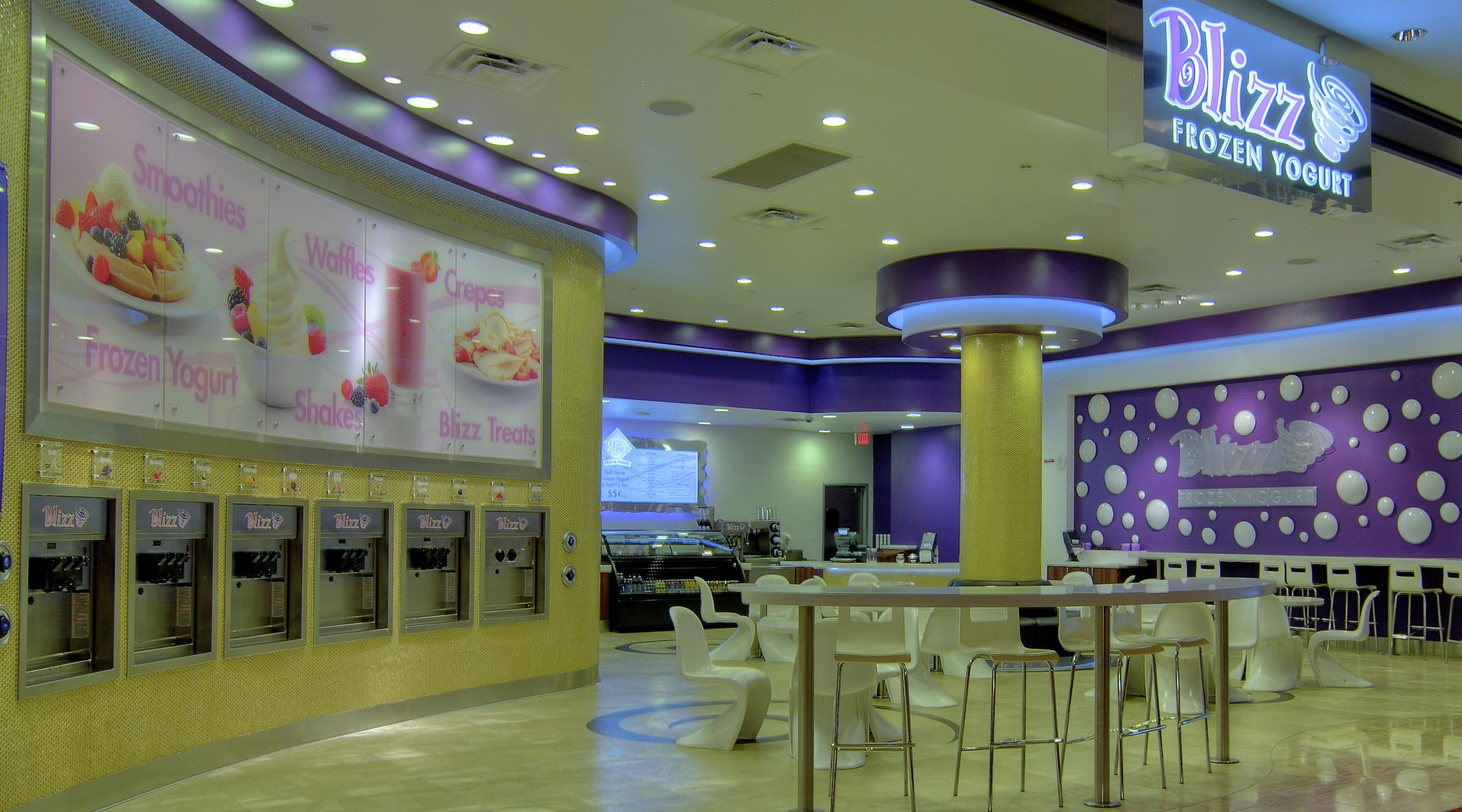 Enjoy a not-so-guilty pleasure with creamy nonfat frozen yogurt and smoothies at The Mirage
