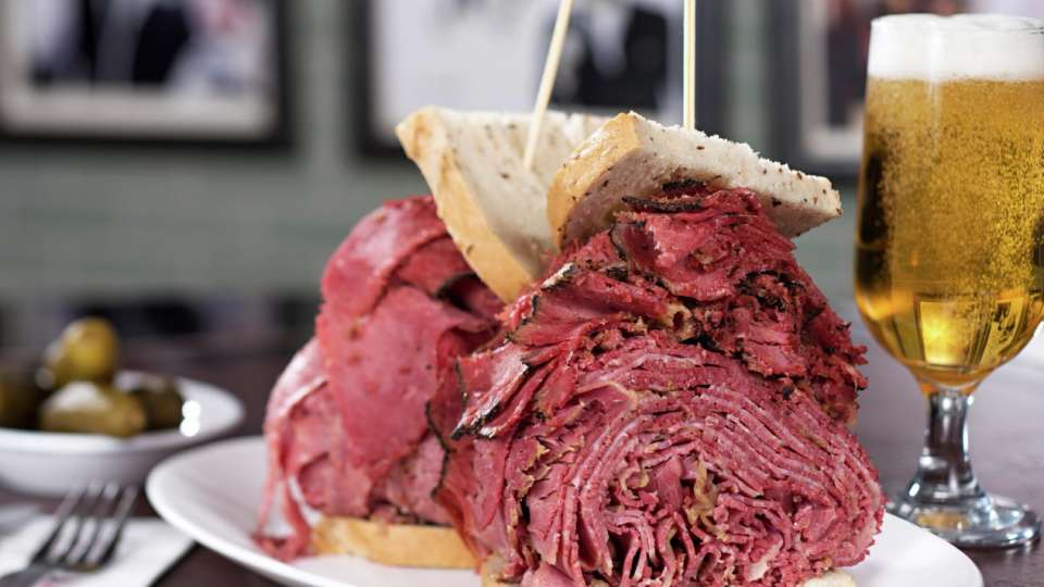 Woody Allen Sandwich from Carnegie Deli at The Mirage