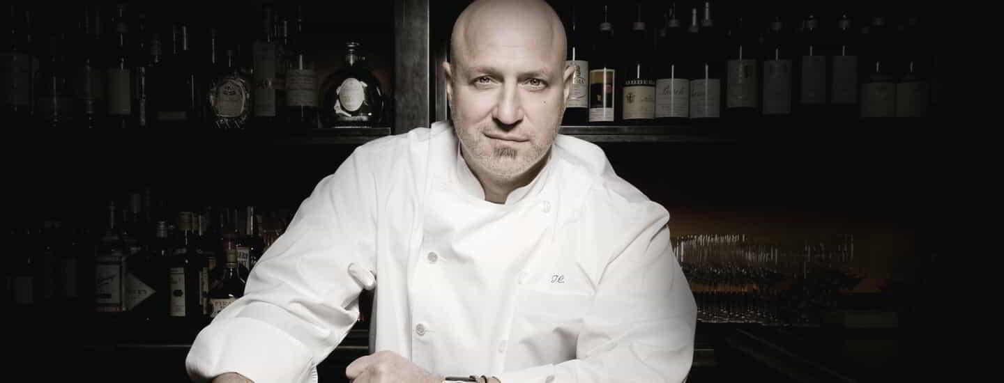 New York chef Tom Colicchio brings his passion for cooking with fire to the Las Vegas Strip with Tom Colicchio's Heritage Steak at The Mirage