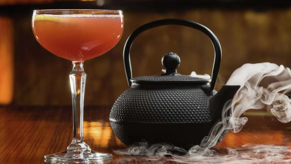 Kettle Cocktail at OTORO Robata Grill and Sushi only at The Mirage.