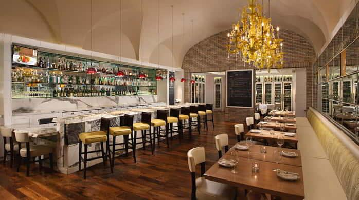 Experience handcrafted Italian coastal cuisine inspired by land and sea