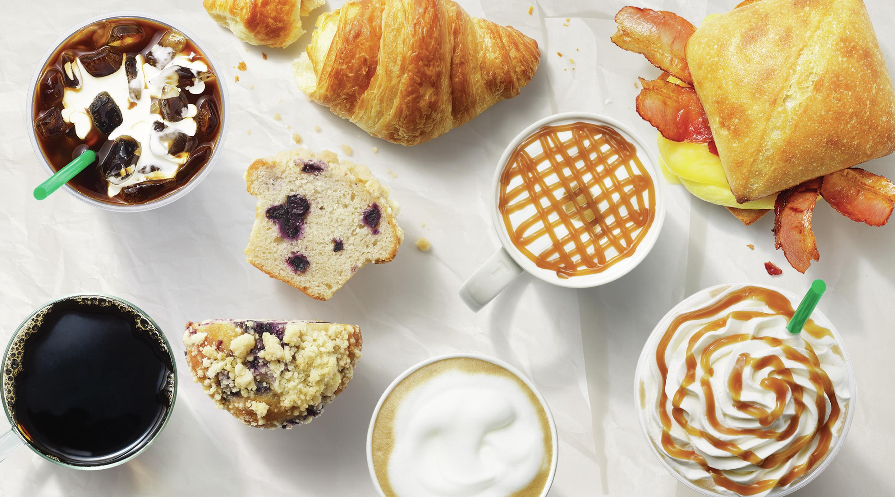Starbucks offers handcrafted coffee beverages, premium teas and delectable treats.