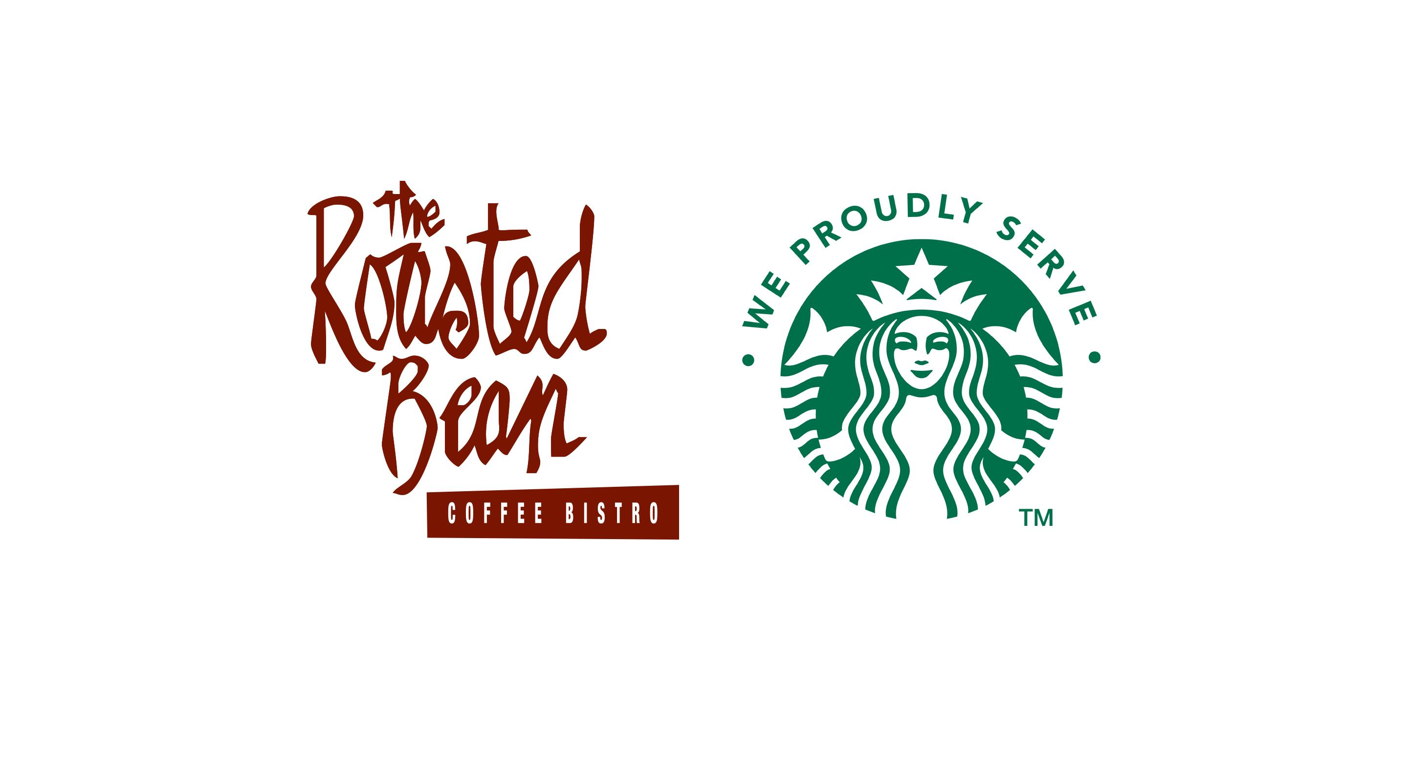 We proudly serve Starbucks at The Roasted Bean.