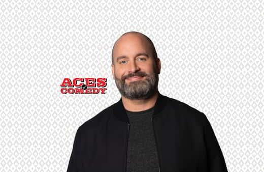 Tom Segura joins the Mirage Aces of Comedy lineup.