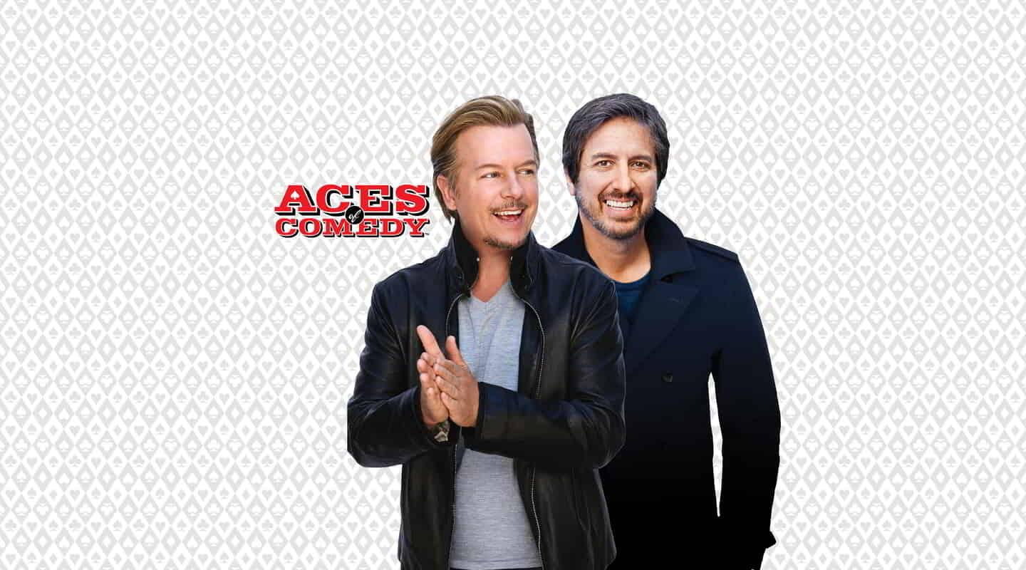 Ray Romano, the star from one of the most respected comedy sitcoms in television history, Everybody Loves Raymond, teams up with David Spade, the wise-cracking, power-hungry assistant from Just Shoot Me, for an evening of hilarious banter as they share our stage together.