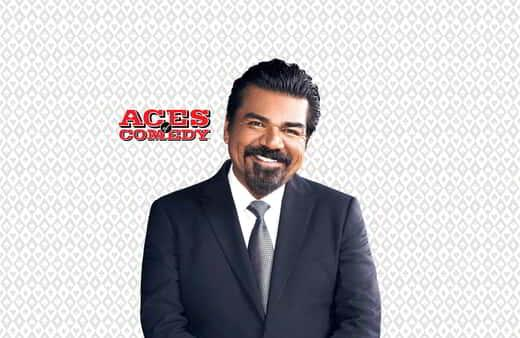 George Lopez performs at the Mirage.