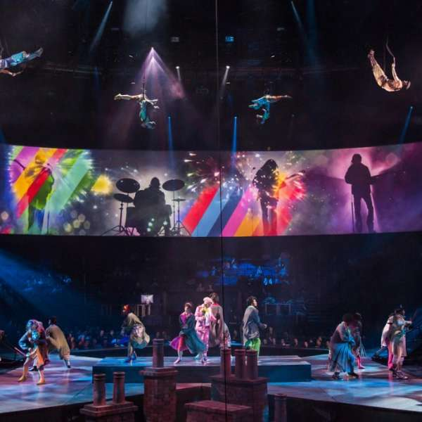 LOVE, Cirque du Soleil's interpretation of The Beatles' legacy, has changed entertainment.