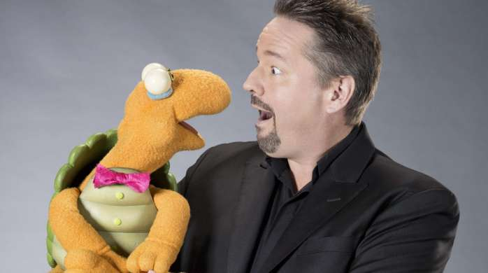Terry Fator and Winston the Impersonating Turtle.