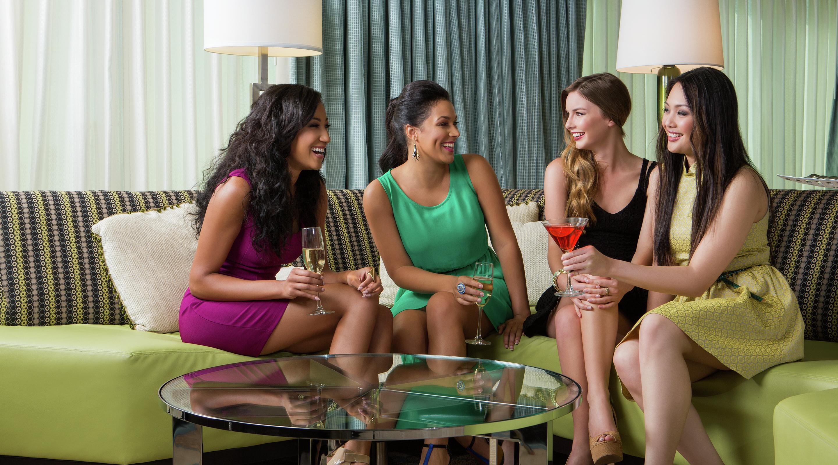 The Mirage Tower Suite is a perfect place to gather with your friends