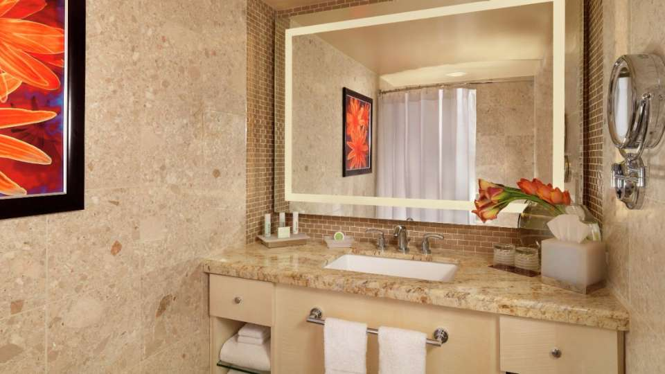 The Mirage Resort King or Queen Bathroom Vanity