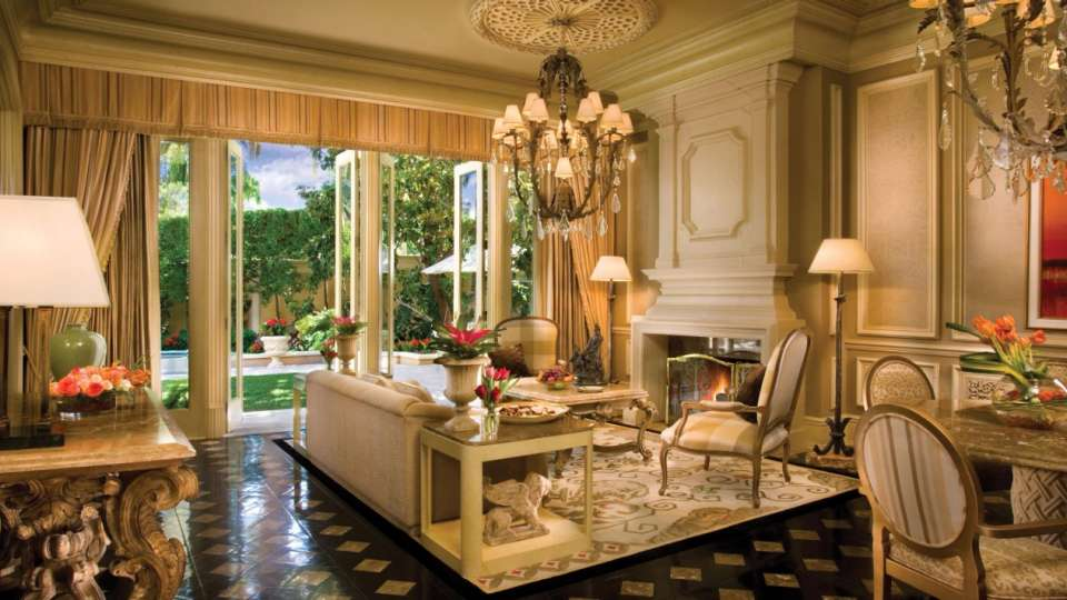 The Villas Living Room Suite at The Mirage