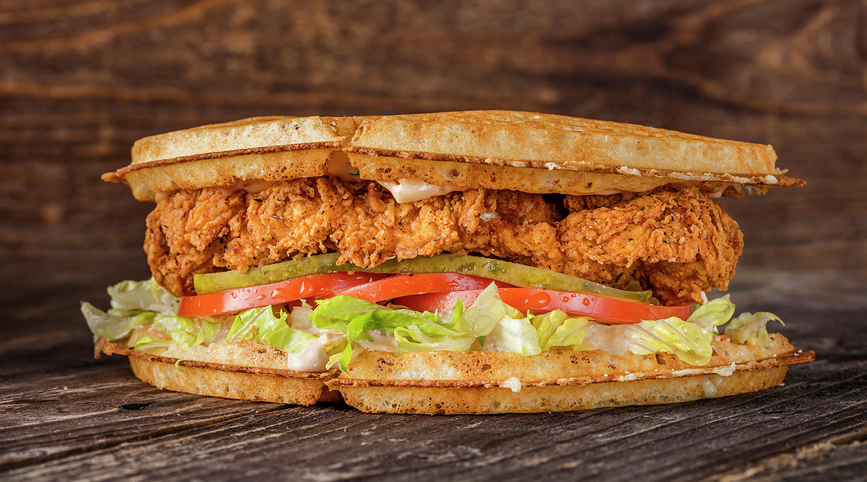 Bruxie Crispy Chicken Sandwich image.
