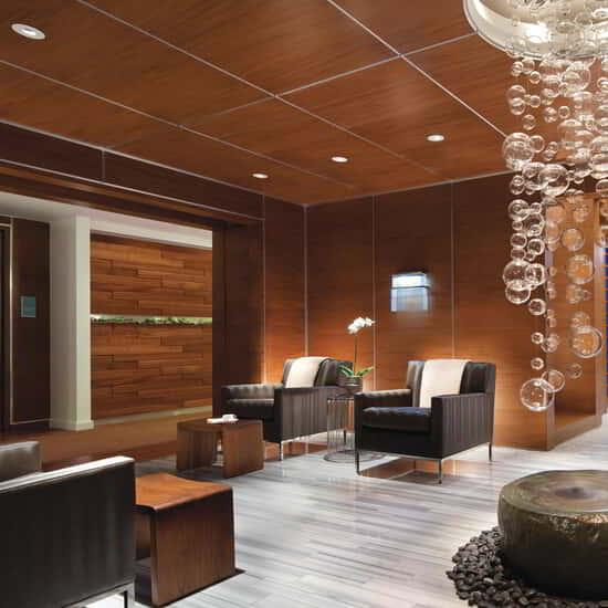 ESPA takes guests through a therapeutic journey.