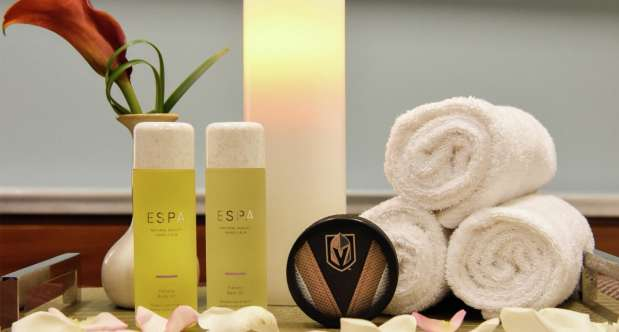 Experience history in the making with Vegas Golden Knights themed treatments at ESPA at Vdara.