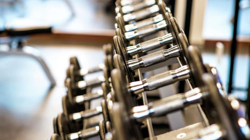 Make yourself comfortable in our naturally lit Fitness Center, featuring a variety of state-of-the-art cardio equipment, each outfitted with personal entertainment centers, as well as, weight machines, free weights and aerobic fitness equipment.