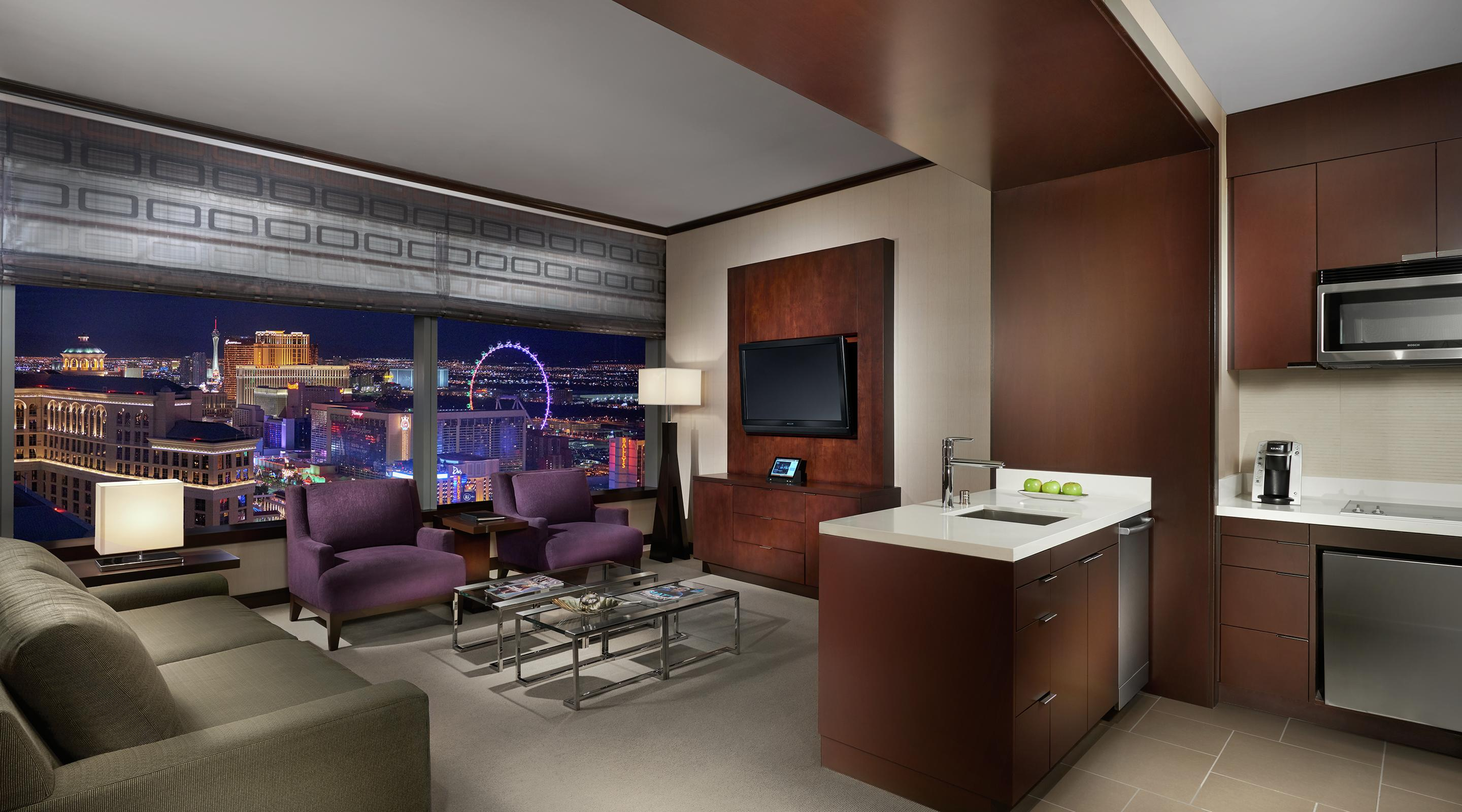 Experience one of Vdara's rooms with a view.