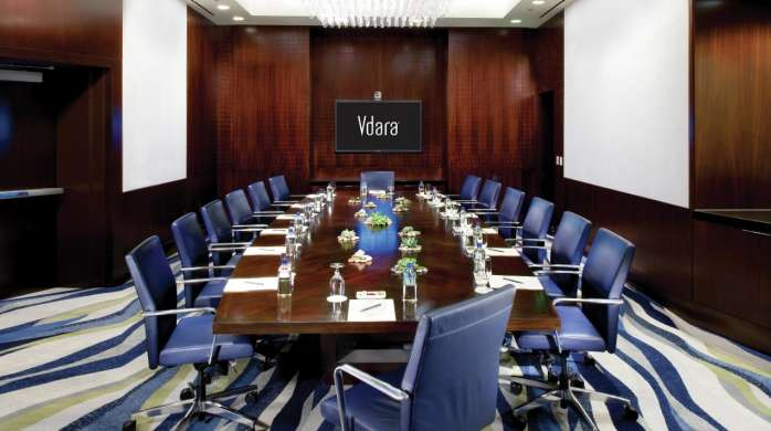 Vdara's exceptional and intimate service extends to the meeting spaces – specializing in smaller groups from 10 to 300 guests.