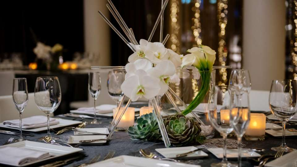 Add your personal touch with custom floral arrangements.